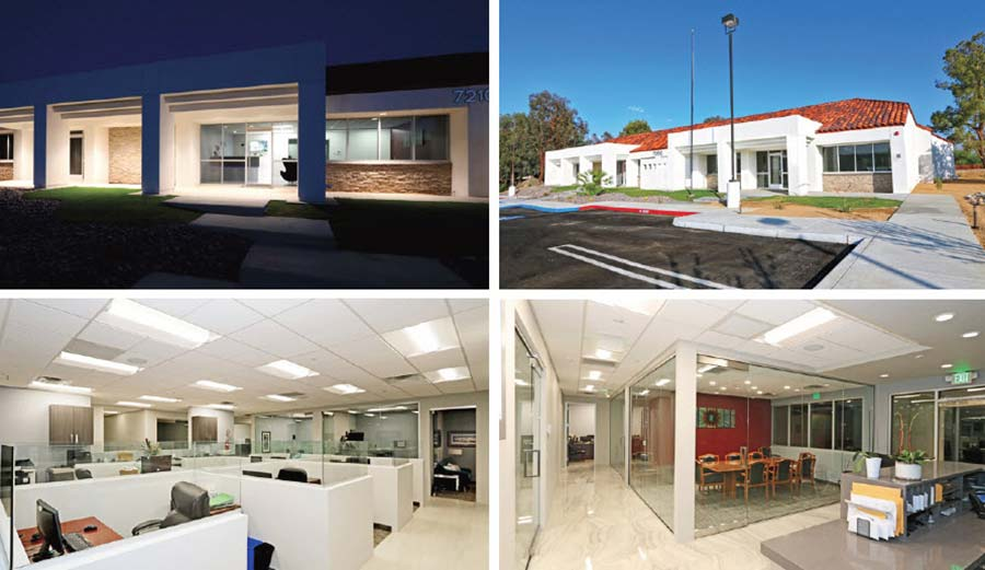 Office Projects by Desert Rock Development